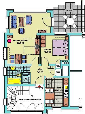 2-Zi.-Wohnung