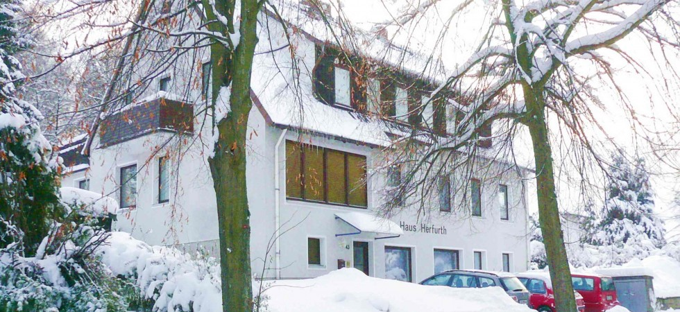 Haus Herfurth – im Winter