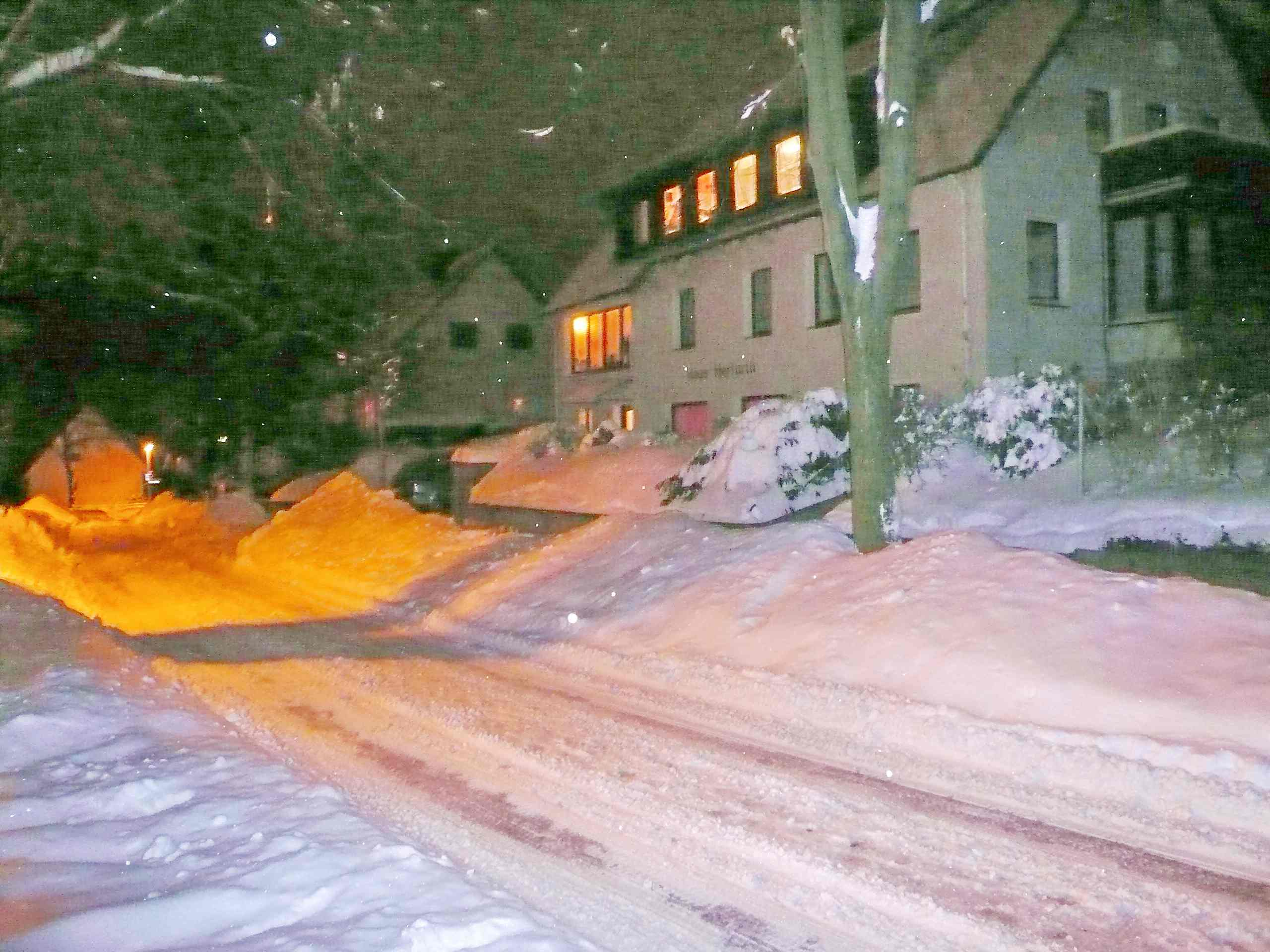 Haus Herfurth – im Winter